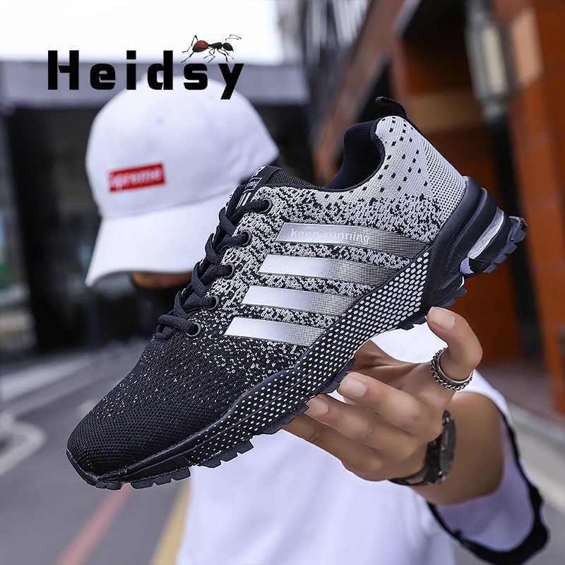 2020 bahar moda erkekler Sneaker ayakkabı kadın örgü nefes hafif giyilebilir günlük erkek ayakkabısı lüks marka Zapatos Hombre