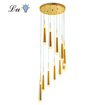 LED Nordic Modern Crystal Chandelier Living Room Bedroom Hanglamp Attic staircase Decoration Chandeliers Indoor Lighting Lamp american village nordic crystal chandelier modern simple restaurant bedroom led lighting fixture led lamp chandelier lighting