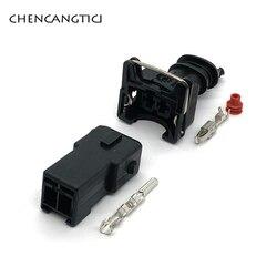 2 комплекта 2 Pin Way топливный водонепроницаемый EV1 Автомобильный Электрический разъем топливного инжектора штекер для Denon 282762-1 282189-1