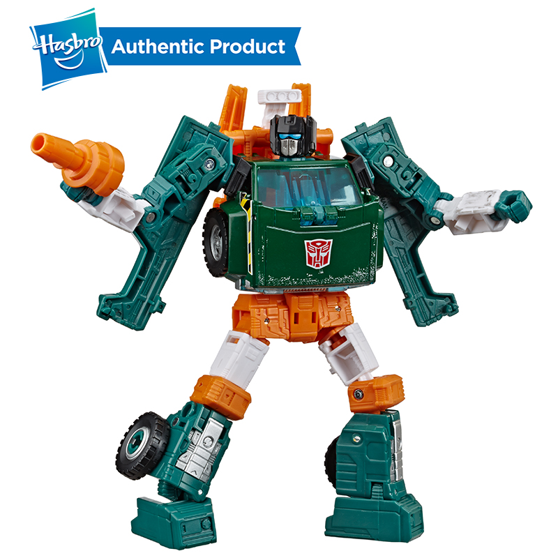 Hasbro Transformers Toys Generations War For Cybertron Earthrise Deluxe WFC-E5 Hoist 5.5-inch Action Figure For Boys Kids