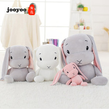 лучшая цена 25/55CM Cute Rabbit Doll Baby Soft Plush Toys For Children Bunny Sleeping Mate Stuffed &Plush Animal Baby Toys For Infants