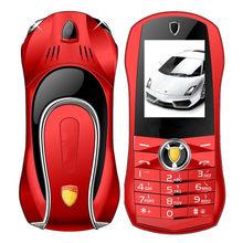 Téléphone portable F1 débloqué sans caméra, jouets droits, voiture pour enfants, personnage de dessin animé, Mini modèle avec lumières, corps en métal