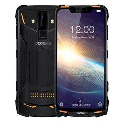 Смартфон DOOGEE S90 Pro на Android 9,0, восемь ядер, экран 6,18 дюйма, 6 ГБ + 128 ГБ