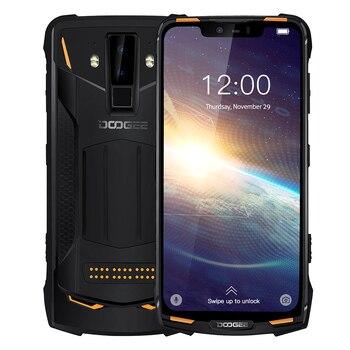 Перейти на Алиэкспресс и купить Смартфон DOOGEE S90 Pro на Android 9,0, восемь ядер, экран 6,18 дюйма, 6 ГБ + 128 ГБ