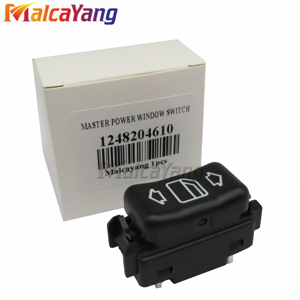 1248204610 Right Electric Master Control Power Window Switch For <font><b>Mercedes</b></font> Benz W124 W463 W126 C124 S124 190 W201 260 300 image