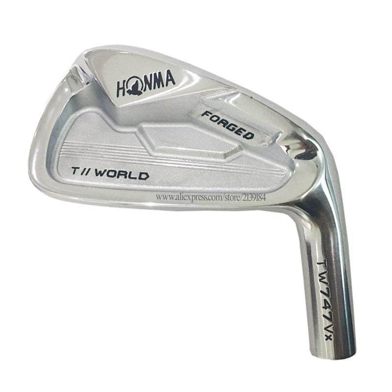 New Men Golf Irons HONMA TW747 Vx Golf Irons Head Set 4-9 10 11 Clubs Heads No Golf Shaft Cooyute Free Shipping