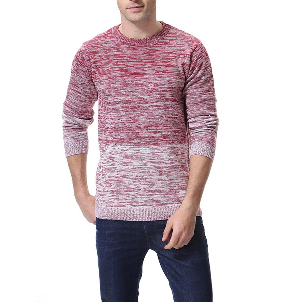 Thick Sweaters  Men Slim Fit Jumpers Knit  Warm Winter Casual Style Men Sweater Clothes