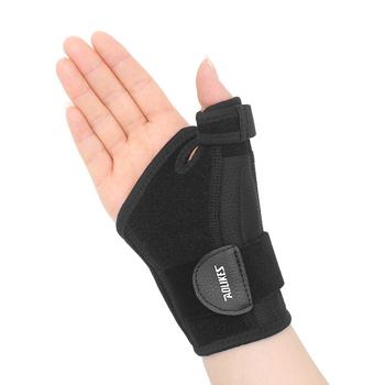 1 szt Kciuk szyna z bransoletka wspierająca nadgarstek-kciuk klamra do tunelu nadgarstka lub ścięgna ulga w bólu kciuk Spica szyna stabilizator tanie i dobre opinie Dla osób dorosłych CN (pochodzenie) OK cloth SBR nylon