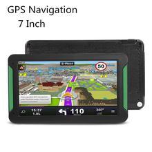 Pantalla táctil portátil Universal HD 7 pulgadas coche GPS navegación 800*480 HD GPS navegador coche camión navegador GPS