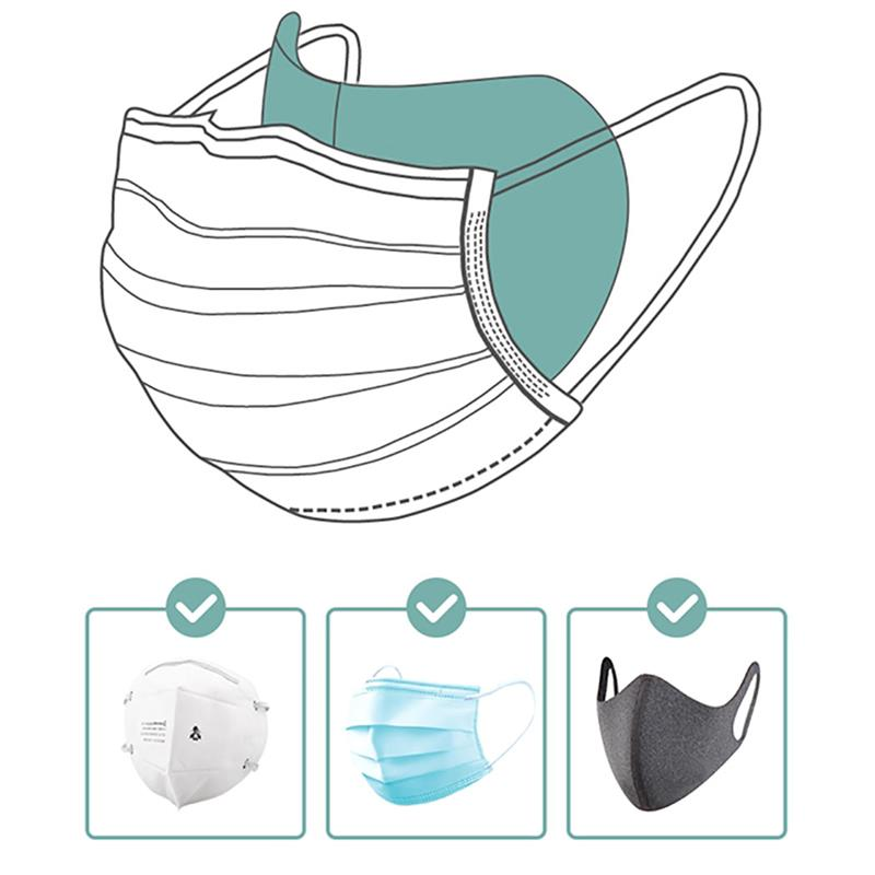 50 шт./компл. Нетканая Пылезащитная маска для рта одноразовая 3-слойная маска для рта прокладка маска для фильтра аксессуары для маски