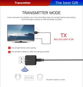 Image 3 - Nuevo transmisor receptor de Audio Bluetooth 5,0 Mini 3,5mm AUX Jack Transmisor estéreo Bluetooth para TV ordenador adaptador inalámbrico para coche