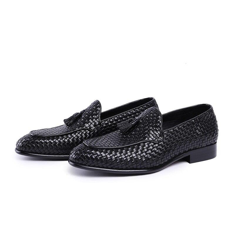 Mens Genuine Leathers Dress Shoes Luxury Formal Shoes Men Zapatos De Hombre Men Wedding Shoes Unique Bespoke Shoes