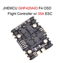 JHEMCU GHF420AIO F4 OSD FPV Racing Flight Controller w/ Built-in 35A BL_S 4In1 Brushless ESC for RC Drone Quadcopter Spare Parts