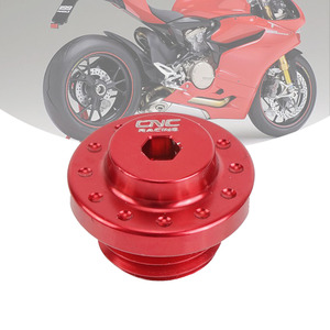 Motorcycle Engine Oil Filler Cap M20*2.5 For Ducati Panigale 1299 1199 959 899 PanigaleV4 V4S 848 EVO 1098 1198