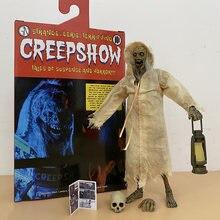 O creepshow figura figura de ação estranho eerie contos de suspense e horror brinquedos dia das bruxas neca horror presente 7 Polegada