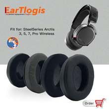 Eartlogis Запасные подушечки для steelseries arctis 3 5 7 pro
