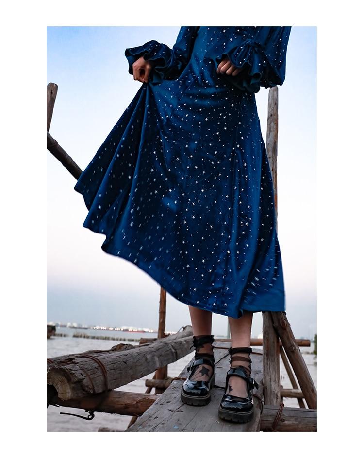 francês longo feminino doce lolita vestido vintage