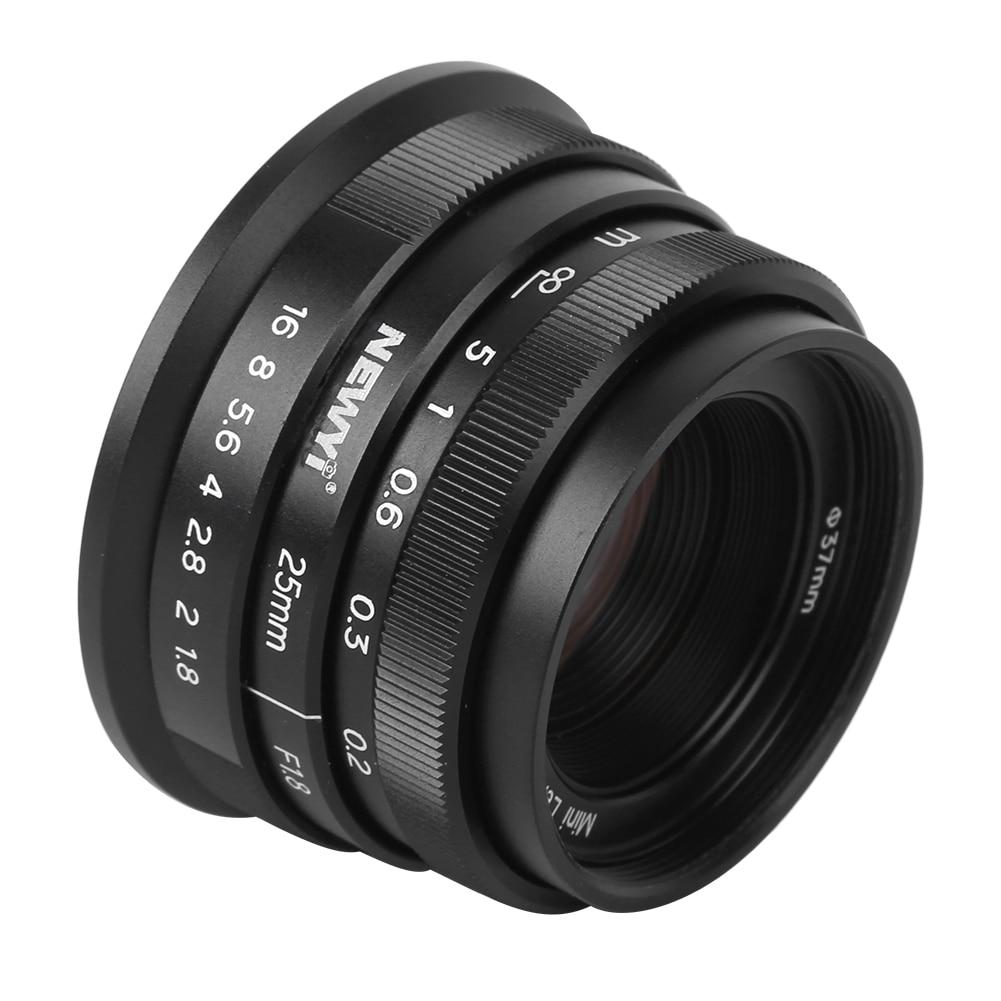 NEWYI с фокусным расстоянием 25 мм f1.8 Ручной Портрет с фиксированным фокусным расстоянием APS-C объектив для Sony A9 A7 серии A6600 A6400 A6000 байонетное кре...