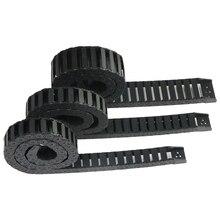 JIN AO Кабельные цепи 15*15 мм 15*20 мм 15*30 мм Тип моста может открыть 1 метр пластиковые буксировочные передачи Тяговая цепь для машины