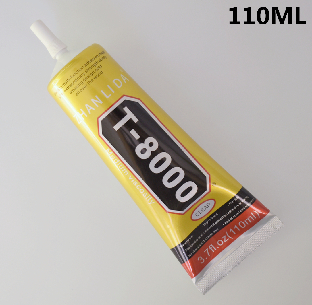 1 Pc 110ml T-8000 Glue T8000 Multi Purpose Glue Adhesive Epoxy Resin Repair Cell Phone LCD Touch Screen Super DIY Glue T 8000
