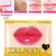 Honey Lip Gel Mask Crystal Collagen Moisturizing Lip Facial Mask Hydrating Repair Remove Lines Blemishes Lighten Lip Skin Care(China)