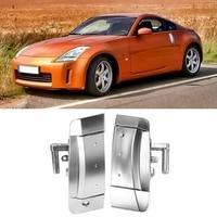 1 쌍 왼쪽 및 오른쪽 외부 외부 도어 핸들 자동차 도어 핸들 닛산 350Z 2003 - 2009