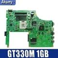 Akemy CN-0WTW8F WTW8F для DELL V3700 Материнская плата ноутбука HM57 GT330M 1 ГБ DW70 09290-1 48.4RU06.011 основная плата