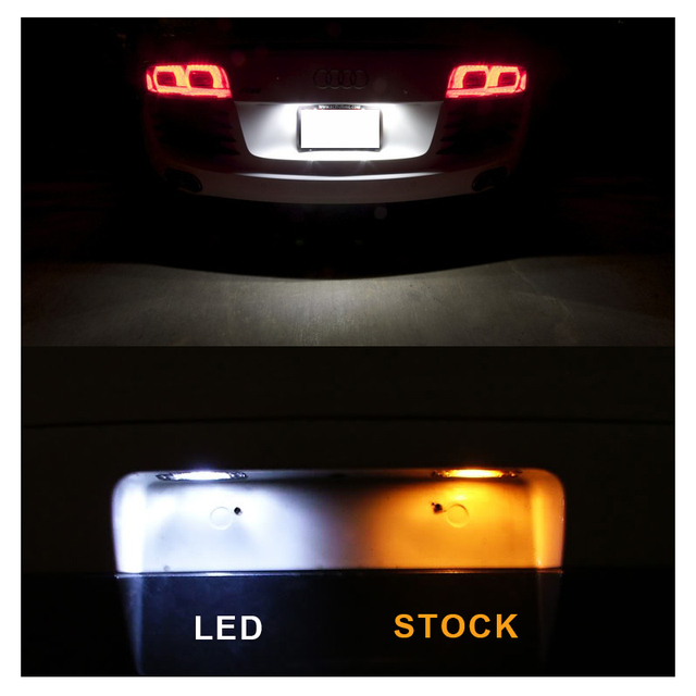 12pcs White LED Interior Light Canbus License Plate Bulbs Kit Fit For 2004-2006 2007 2008 Chrysler Pacifica Map Dome Cargo Lamp 5