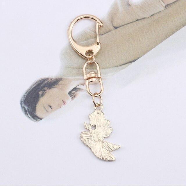 Anime Cartoon Cat Key Chains For Girl Women Cute Fox Mermaid Watermelon Pendants Key Ring Bag Pendant Lovely Jewelry Child Gifts 5