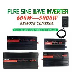 Inversor de potencia del inversor de onda sinusoidal pura DC12V/24 V/48 V/60 V/72 V a AC 110 V/120 V/220 V/230 V/240 V herramienta del convertidor para el hogar/barco solar/Solar