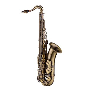 Image 3 - Muslady Antique Finish Bb Tenor Saxophone Sax Brass Body White Shell Keys Woodwind Instrument with Carry Case Sax Neck Straps