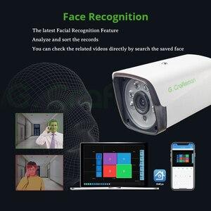 Image 3 - XM Face Detection 4CH 1080P POE IP Camera System Kits Waterproof  CCTV Security Video Surveillance H.265+ XMEye AI G.Craftsman