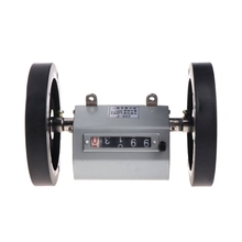 1-9999.9M Meter Counter Rolling Wheel Mechanical Length Counter