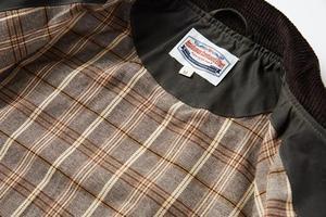 Image 5 - Уличная винтажная Вощеная хлопковая куртка 80 х годов мужское охотничье пальто в коротком стиле оливковая