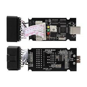 Image 5 - OPCOM con PIC18F458 FTDI Chip V1.70 V1.78 V1.95 V1.99 OBD2 CAN BUS lettore di codice strumenti automatici per Opel OPCOM aggiornamento diagnostico per Auto