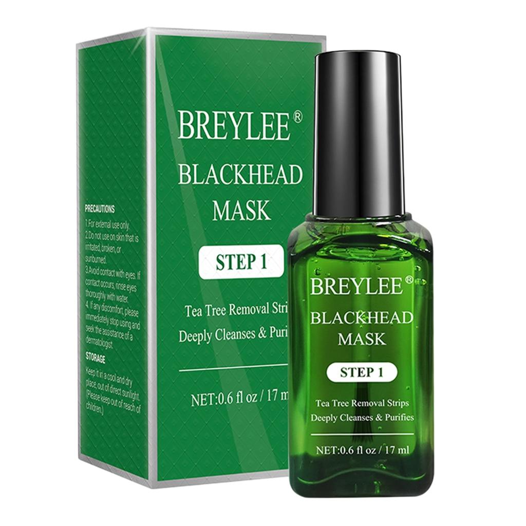 Комплект для удаления черных точек BREYLEE, средство для удаления черных точек, сужение пор, удаление черных точек