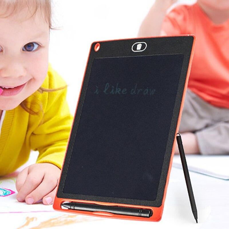Mini Board Electronic Blackboard Toys 8 Inch For Girls Boy LCD Tablet Magnetic Chalkboard Digital Bulletin Writing Board Toy