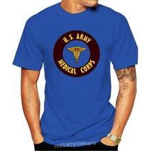 "New 2019 Men'S Casual Letter Printed Top Quality Us Army - Medical Corps "" Nurse Medic Infirmier Ww2 Usa 1944 Cute T Shirts"