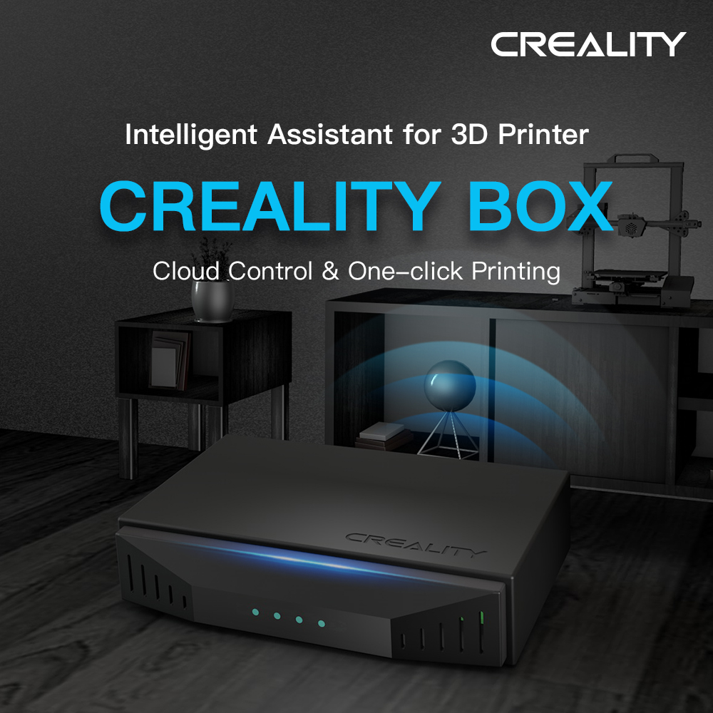 Cloud-Box Parts Parameters 3d-Printer Wifi CREALITY Set-Up-Directly by Relevant of The-App