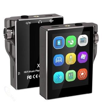 HiFi MP3 Player with Bluetooth Touch Screen FM Radio Portable Music Player Hi-Res Speaker Audio E-Book Recording Walkman fiio m7 high resolution lossless audio player bluetooth4 2 aptx hd ldac touch screen mp3 with fm radio support native dsd