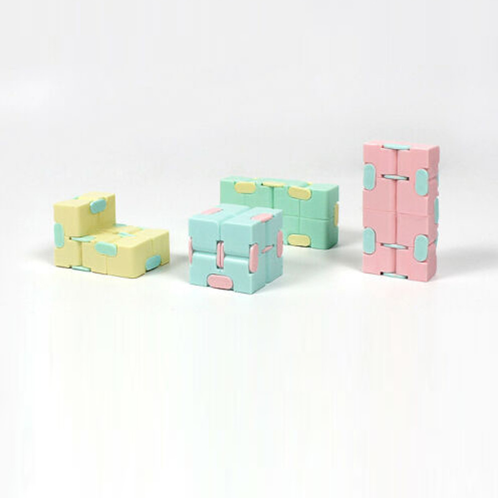 Toy Cube-Blocks Infinity-Cube Stress-Relief Finger EDC Anxiety for Children Best-Gift img2