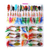 20 & 30 PCS Spoon/Spinner bait Sets For Trout 2