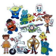 10 шт. 1 игрушечный лист Story 4 Forky Woody Alien Buzz Lightyear водонепроницаемые наклейки на автомобиль мотоцикл багаж ноутбук скутер DIY наклейки