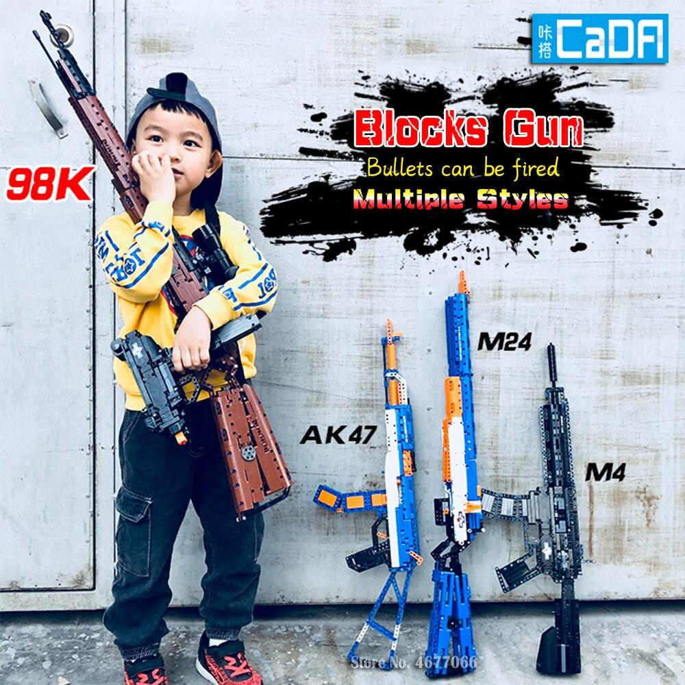 TESt pistolet legoed modèle blocs de construction p90 jouet pistolet jouet brique ak47 jouet pistolet arme legoed technique briques lepin pistolet jouets pour garçon