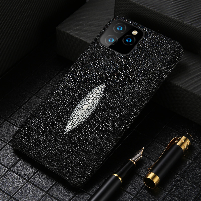 Luxusní originální pouzdro na telefon Pearl Gourami pro Apple iPhone SE 2020 11 Pro XS Max X XR 6 6S 7 8 Plus Zadní kryt