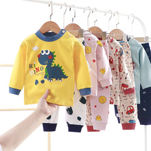 Children's underwear suits cotton pajamas  autumn and winter baby long-sleeved trousers  male baby clothes female baby home se