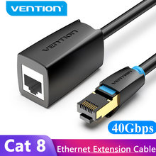 Intervento Cat8 Cavo di Estensione Ethernet SFTP 40Gbps RJ45 Extender Patch Cord Adattatore per Router Modem PC Cat 8 Ethernet cavo