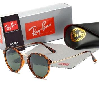 RayBan RB2447 Wayfarer Classic Polarized Sunglasses Men Women Square Driving Sun Glasses Male Fashion Black Shade