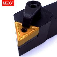 MZG 20 millimetri 25 millimetri MTJNR1616H16 Lavorazione Noioso Cutter In Metallo di Taglio In Metallo Duro Portautensili Tornitura Esterna Portautensile Tornio CNC Arbor