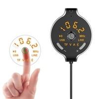 FM Modulator Car Kit MP3 Player Wireless Bluetooth Hands free FM Transmitter AUX Output TF/U Disk Play USB Car Charger 5V/3.1A